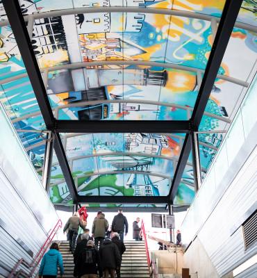 Buskap Kunstwerk Gemeente Zwolle